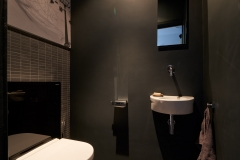 Toilet en wastafel